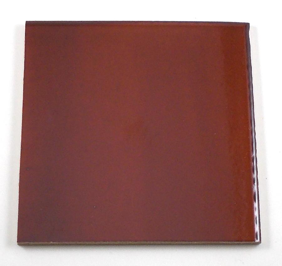 Saimosaicart Ceramic Tile 44 Dark Brown