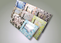 Basic 2- Photo Frame Irregular Pastel Tiles