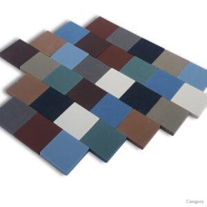 Full Body Ceramic Mosaic 20x20mm